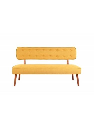 Ze10 Design Westwood Loveseat İikili Kanepe Sarı Sarı
